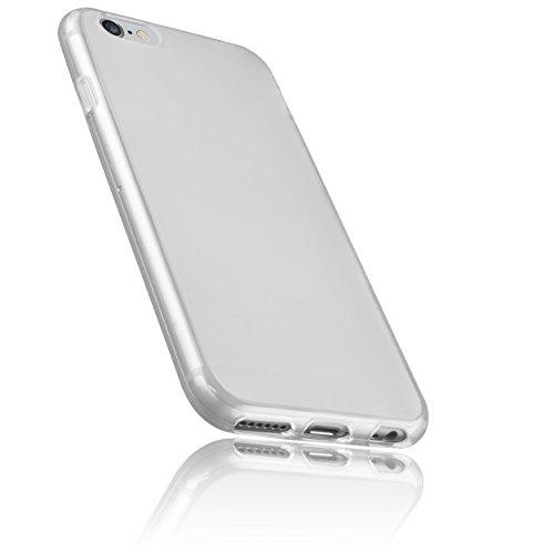 [2-Stück] TOPLUS 2m Nylon Lightning auf USB Kabel Ladekabel Datenkabel mit Aluminum Kopf für iPhone 6/6s/6 Plus/6s Plus/SE/5/5c/5s, iPad 4 Mini Air iPod Nano 7 iPod Touch 5 (Silberweiß)