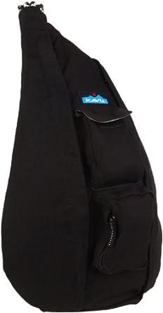 KAVU Rope Bag, Black,One Size