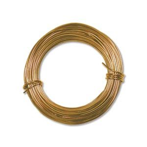 Aluminum Craft Wire 18 Gauge 39 Feet GOLD