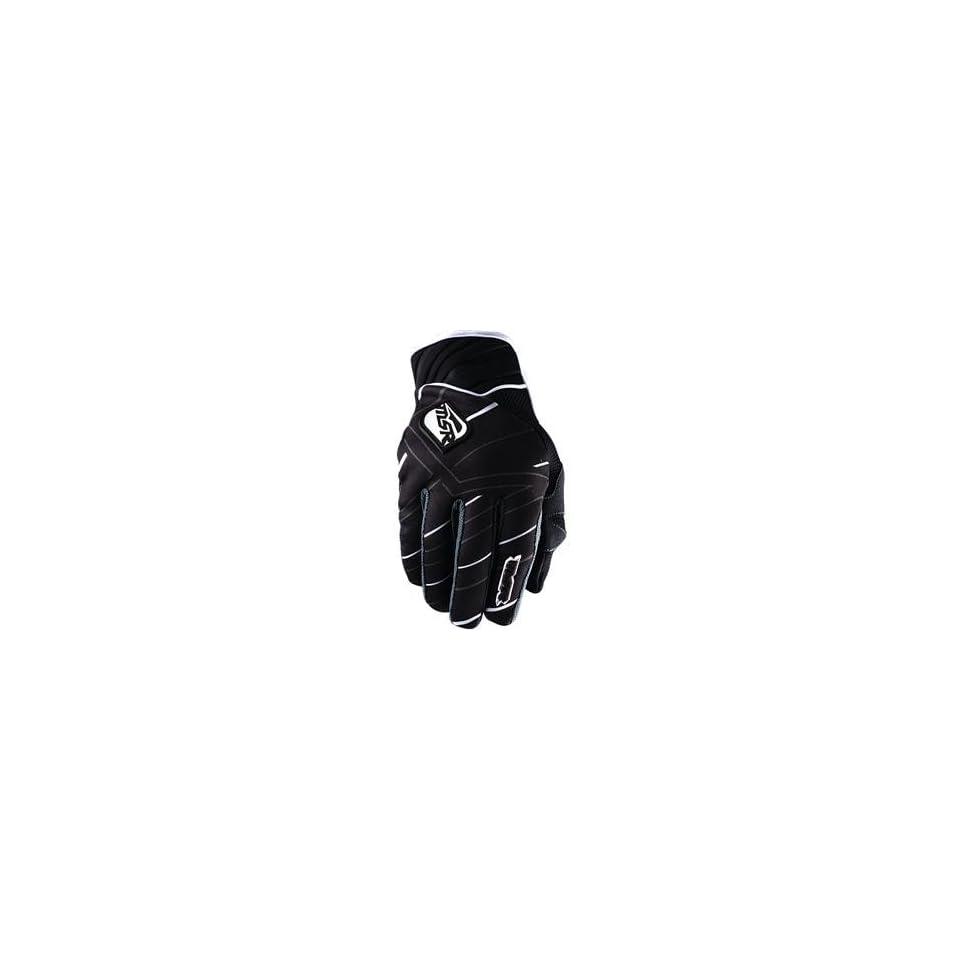 MSR Racing Renegade Gloves   Large/Black/White