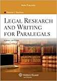 img - for Legal Research and Writing for Paralegals 5th (fifth) edition Text Only book / textbook / text book