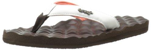 Reef Women'S Dreams Sandal,Brown/White/Coral,7 M Us front-1076824