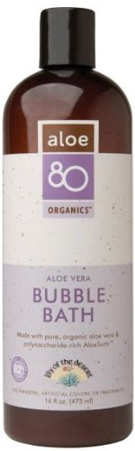 Lily Of The Desert - Aloe 80 Organics Bubble Bath - 16 Oz.