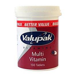 Valupak Multivitamin 150 Tablets