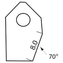 Valve Seat Cutter Blade