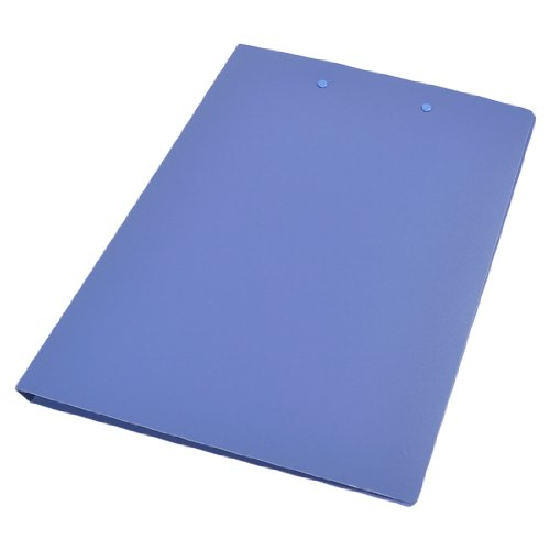 Dual Lever Clips A4 Papers Contracts Documents File Folder, Blue