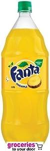 Fanta Pineapple Soda, 2-Liter Bottle (Pack of 6)