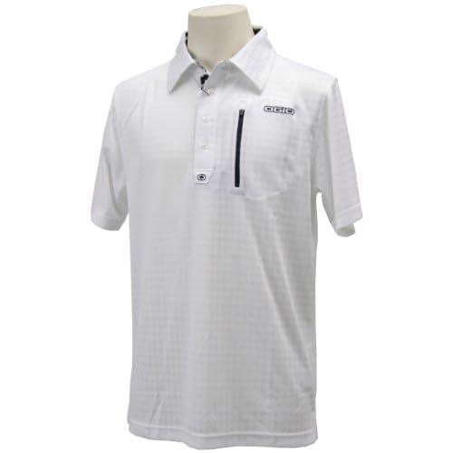 (オジオ)OGIO メンズ 半袖ポロシャツ 764608 WT ホワイト L