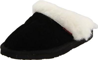 Ukala Women's Inala Slipper,Black,8 M US