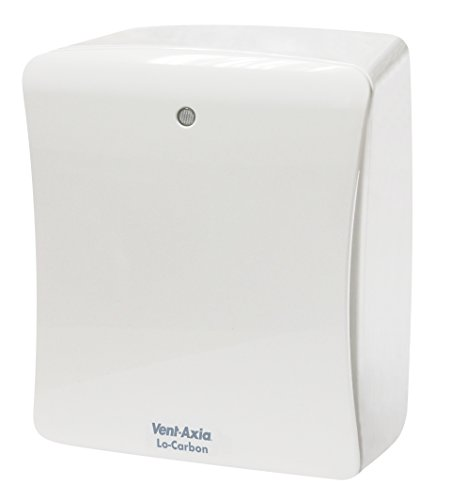 Vent Axia, 427481 Lo-Carbon Solo Plus ZENTRIFUGAL- Bad WC Lüfter Ventilator mit Zugschnur