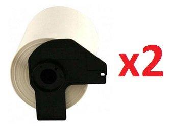 2 x DK11202 Versand-Etiketten