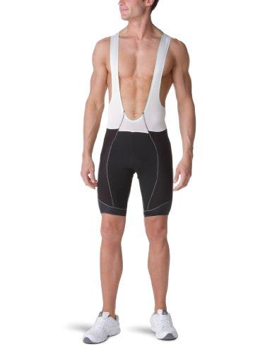 Craft Pantaloni ciclismo, Salopette ciclismo Uomo, Multicolore (black-white), 5 = m