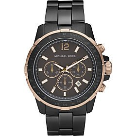 Michael Kors Men's MK8173 Casual Classic Chronograph Gunmetal Watch