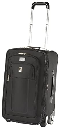 Travelpro Crew 8 22 Inch Expandable Rollaboard Suiter,Black,One Size
