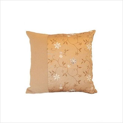 Lee Wilder LWTP18BOHBOW Bohemian -Boiled Wool 18 x 18 Inch Pillow