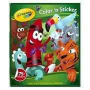 Crayola Color 'n Sticker 75+ Jungle Animals Stickers
