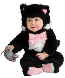 Inky Black Kitty Costume - Baby 12-18