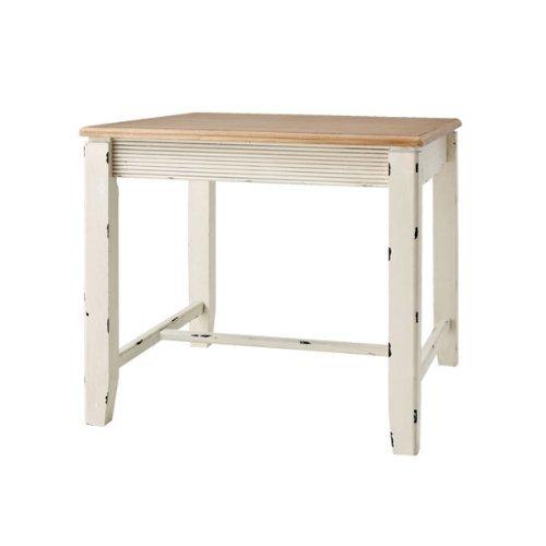 机 木製 シャビー フレンチアンティーク調 ブロッサム ダイニングテーブル COL-018