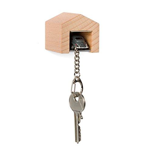 garage-con-maggiolino-vw-grigio-per-la-parete-il-chiavi-board-in-legno-di-faggio-e-acciaio-inox-con-