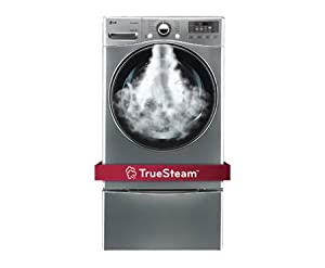LG DLGX3471VSteamDryer 7.3 Cu. Ft. Graphite Steel Stackable