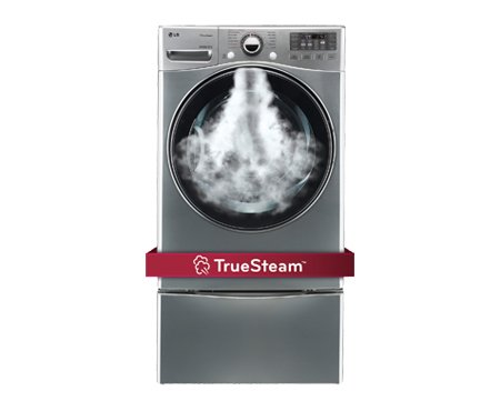 LG DLGX3471VSteamDryer 7.3 Cu. Ft. Graphite Steel Stackable With Steam Cycle Gas Dryer (Washing Machine And Gas Dryer compare prices)