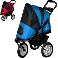 Pet Gear Gen2 AT3 All Terrain Pet Stroller & Weather Cover blue sky-color weather cover (stroller sold separtely)