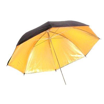 CowboyStudio 43in Black & Gold Photo Studio Umbrella