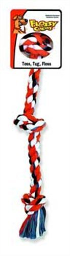 Mammoth Flossy 3-Knot Rope Tug dog chew toy review
