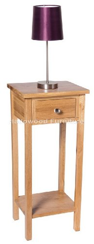 New Solid Oak Compact Slim Small Telephone / Phone / Console / Lamp / Hall way / plant / bedside Table