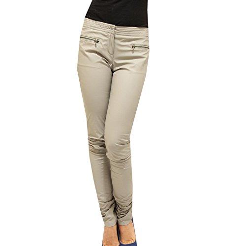 9611F pantaloni grigi PATRIZIA PEPE pantalone donna trousers women [40]