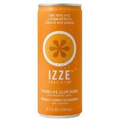 Bulk Save Izze Sparkling Clementin 24 to 96 packs each 8.4OZ bulk save santa cruz organic mint chocolate syrup 12 to 48 packs each 15 5oz