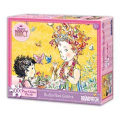 Fancy Nancy: 100 Piece Glitter Puzzle - Butterflies Galore