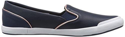 Lacoste Women's Lancelle Slip on 316 1 Spw Nvy Fashion Sneaker, Navy, 10 M US
