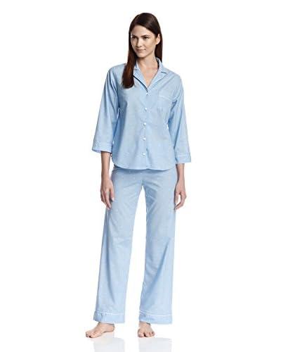 Blush Women's Lexi Pajama Set  [Chambray Dot]