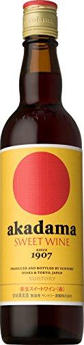 サントリー 赤玉スイートワイン(赤) 550ml