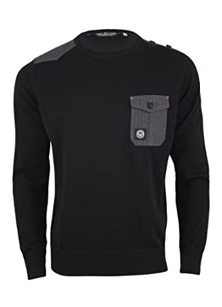 Duck and Cover Lionel Jumper Black X-Large