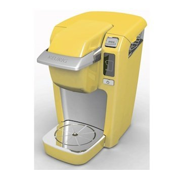 Keurig K10/B31 MINI Plus Brewing System, Yellow