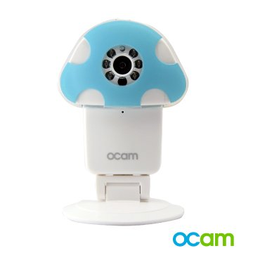 OCam-M1 Wi-Fi Wireless Baby Security Video Camera & Nanny Cam DVR iPhone iPad iOS Android(Blue)