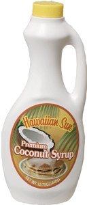 Hawaiian Sun Coconut Syrup