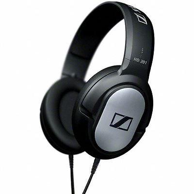 New New Sennheiser HD201S Professional DJ Over-Ear Binaural Hi-Fi Wired Headphones- PUNER Store