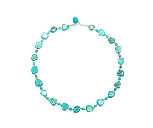 Lola Rose 'Jayden' Natural Blue Magnesite Necklace