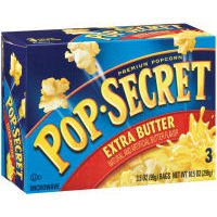 Pop Secret Popcorn - Extra Butter - 9.6 Oz - 3 Ct