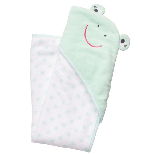 Carter's Baby Frog Hooded Towel