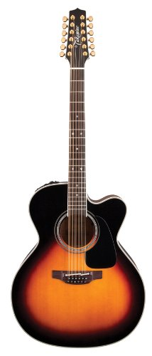 Takamine Pro Series 6 P6Jc-12 Bsb Jumbo Ct4-Dx Guitar With Case