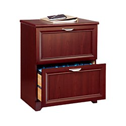 Realspace(R) Magellan Collection 2-Drawer Lateral File Cabinet, 30In.H X 23 1/2In.W X 16 1/2In.D, Classic Cherry (30 Inch Lateral File Cabinet compare prices)