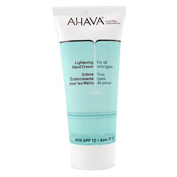 AHAVA LIGHTENING HAND CREAM SPF12