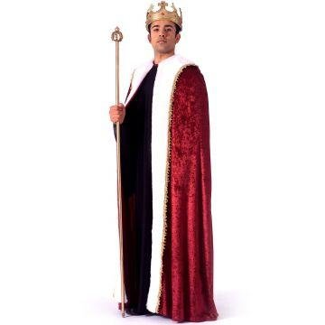 King Robe Halloween Costume - Adult One Size