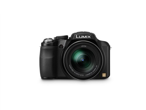Panasonic Lumix DMC-FZ60K 16.1 MP Digital Camera with 24x Optical Zoom - Black
