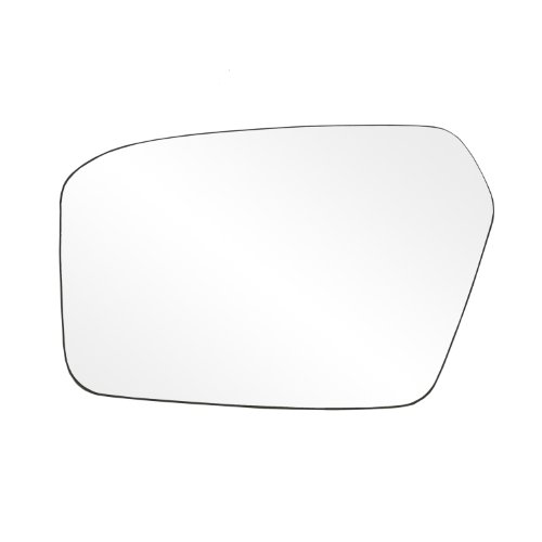Fit System 88207 Ford/Mercury Left Side Power Replacement Mirror Glass with Backing Plate