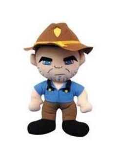 The Walking Dead Plush Figure Sheriff Rick Grimes by Peek-A-Boo Toys - 1